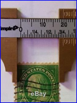 1 Cent Green Ben Franklin Stamp Post Possibly Scott 594 Or 596 United States Stamps Used