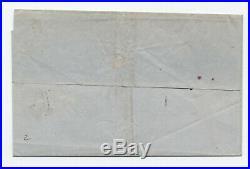 1849 #1 5 cent 1847 cover Norfolk VA almost 4 margins 5379.6
