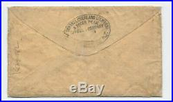 1860 Central Overland CA and Pikes Peak Express cover RF. 111