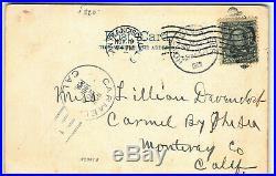 1906 RARE Hawaiian Belle Hawaii & South Sea Curio Aloha Nui Postcard Hula Girl