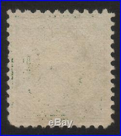 1917 US, 1c stamp, Used, George Washington, Sc 498g, Perf 10 at Top