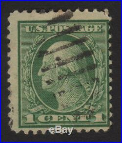 1921 US, 1c stamp, George Washington, Used Sc 544, Cv 3750$