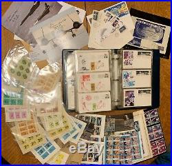 1960's 70's LOT OF SPACE COVERS STAMPS FDC's NASA & ASTROPHILATELIC ITEMS #2