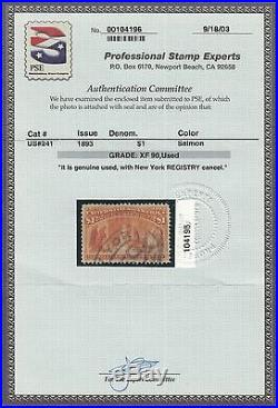 #241 Xf+ Used Gem With Pse Cert Wl7730