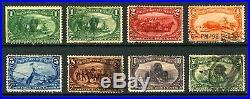 #285-#291 1c-50c 1898 Trans-Mississippi Exposition Mini Set Mint & Used 8 items