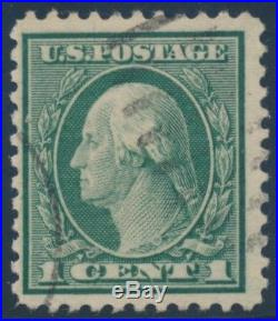 #544 1c 1922 PERF 11 VF+ USED (APP) RP @ LEFT With APS CERT CV $3,750 WLM6870