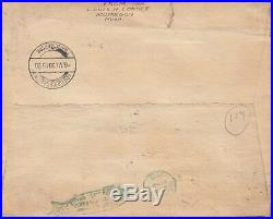 9U. S. C13-C15 Used, On Cover, Plate Singles (72719)