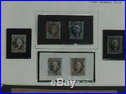 America's First Stamps 1847 First General Issue Washington & Franklin