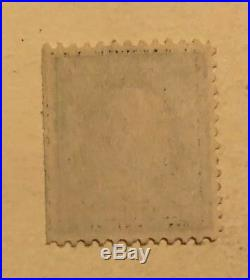 Ben Franklin One Cent Stamp Green VG Condition Antique Very Rare Ext Green Line