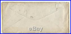 C1870 6ct 1869 #115 Springfield IL state govt ad cover y4411