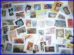 Commemorative (forever Only) Stamps Five Full Pounds On Paper