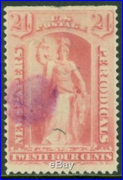 EDW1949SELL USA 1894 Scott #PR96 Used. Rare stamp PSAG Cert. Catalog $4,750.00
