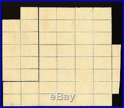 Extremely Raresheet Of 47 Us Scott #230 2 Pieces Of Same Sheet 37 & 11 Used
