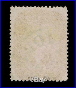 Genuine Scott #28 Vf 1857 Used Red Brown Type-i Ny Ocean Mail Cancel Scv $1050