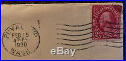 George Washington 2 Cent Stamp Red United States Rare Vintage