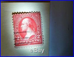 George Washington 2 cent stamp