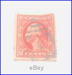 George Washington 2 cent stamp. Rare
