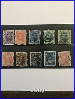 Hawaii Collection 50+ Different, M/OG, Used, M/NG. Fresh and Sound. Scott $1,000