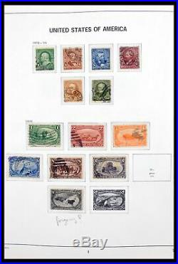Lot 30266 Collection stamps of USA 1861-1988