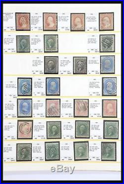 Lot 31003 Collection stamps of USA 1847-1925