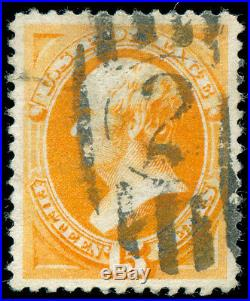 Momen US Stamps #189 Used PSE Graded XF-SUP 95