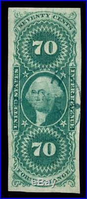 Momen US Stamps #R65a Revenue Used SUPERB PSE Cert