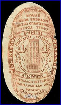 Momen US Stamps #RS267b Revenue Medicine RARE