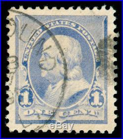 Momen Us Stamps #219 Used Pse Certificate Graded Gem-100j