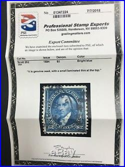 Momen Us Stamps #262 Used Pse Certificate