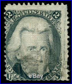 Momen Us Stamps #84 Used Pf Certificate