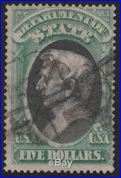 #O69 USED EXT. RARE HIGH VALUE STATE DEPT. OFFICIAL With PFC CV $12500.00 LD30