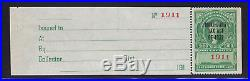 RJM4 Marihuana Tax stamp XF unused scarce nice color cv $ 850! See pic