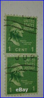 Rare 1938 George Washington 1cent Stamp