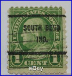 Rare Benjamin Franklin U. S. 1 Cent Rare 1923