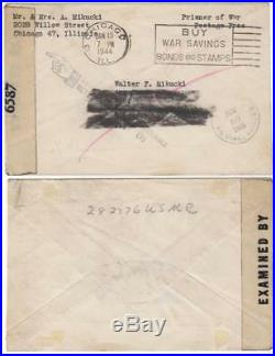 Returned WWII Marine Mail Captured on Corregidor Died in an Osaka POW Camp