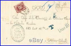 Spain/Cuba NAVY-HABANA 14/JUL/88-ILLUSTRATED OVAL-to USA-POSTAGE DUE-Sc#J