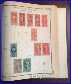 The American Album For United States Postage Stamps 1942 Edition (Hardcover)