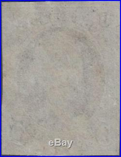 U. S. 1 1847 Used VF 4 Margin (120219)
