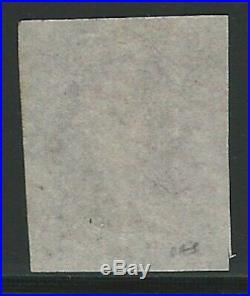 U. S, 1847, Scott #1, 5c Franklin, red brown, used, red cancel, fine-very fine
