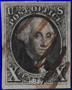 U. S. 2 1847 Used VFXF (112719)