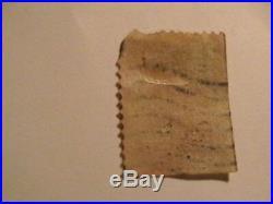 U S postage stamp Scott 300b 1903 1 cent Franklin from booklet pane