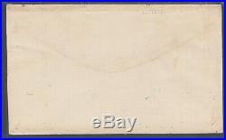 US Sc 65 on 1862 Patriotic Cover with original enclosure, 2 Certs