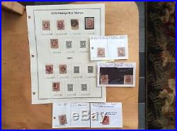 US postage Due Stamps, BOB, Complete Collection 1879-1985, J1 to J104, 96 Stamps