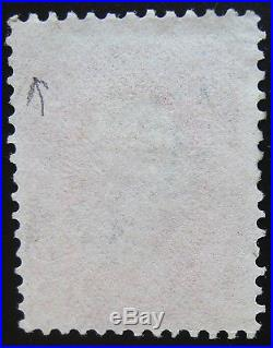 USA 1861-62 3c #64 Pink F-VF light Cancel with Weiss Certify