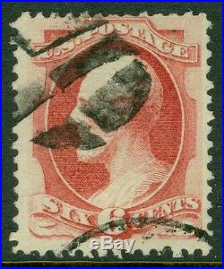 USA 1870. Scott #137 Used, strong color. Choice stamp. Catalog $500.00
