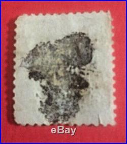 USA 1890 BENJAMIN FRANKLIN 1c BLUE USED