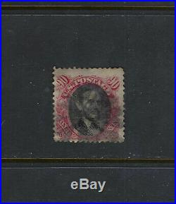 USA Scott #122 F-VF Sound Used US Stamp