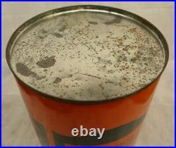 Vintage Harley Davidson Motor Oil Dealership Trash Can (stamped P & K Products)