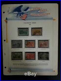 WPPhil US Stamps Scott 230-245 Columbians Used Complete set including Broken Hat